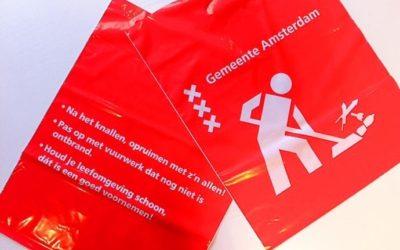 Amsterdam: vuurwerkafval effectief opruimen